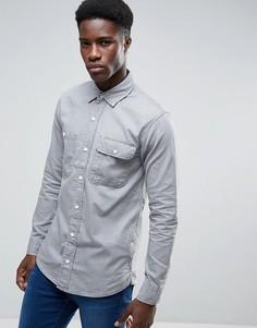 Серая рубашка в стиле вестерн Waven Ash - Серый