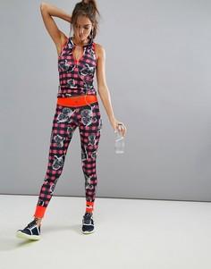 Леггинсы с принтом Adidas x Stella Sport - Мульти