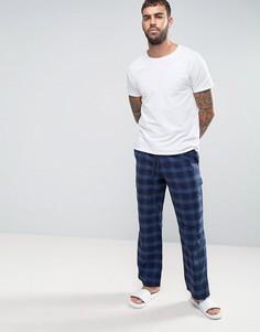 Темно-синие штаны для дома в клетку Jack Wills Blakebrook - Темно-синий