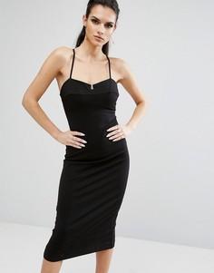 Облегающее платье Kendall + Kylie - Черный