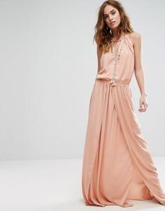 Платье макси The Jetset Diaries Omara - Розовый