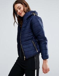 Дутая куртка Daisy Street - Темно-синий