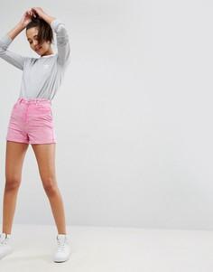 Розовые джинсовые шорты в винтажном стиле ASOS - Розовый