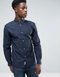 Рубашка в крапинку Bellfield - Темно-синий