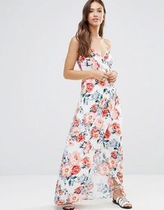 Платье макси с запахом Mink Pink - Мульти Minkpink
