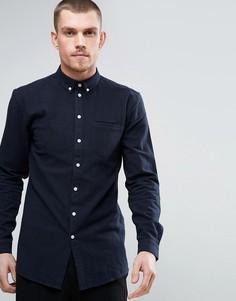 Фактурная рубашка Minimum - Синий