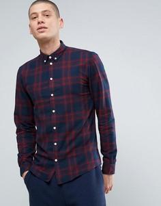 Фланелевая рубашка в клетку Minimum - Красный