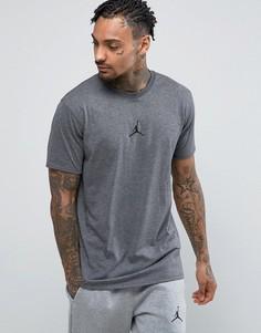 Футболка с логотипом Nike Jordan 833786-071 - Серый