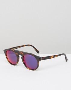 Солнцезащитные очки RetroSuperFuture Racer - Коричневый