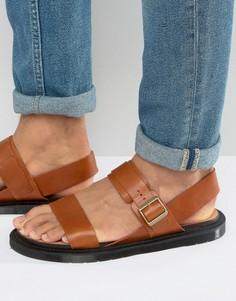 Светло-коричневые сандалии Dr Martens Kennet - Рыжий