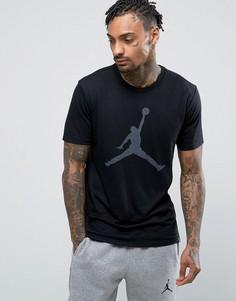 Черная футболка с логотипом Nike Jordan Jumpman 834473-010 - Черный