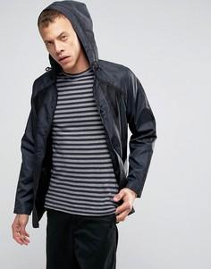 Легкая нейлоновая куртка с капюшоном Lindbergh - Черный