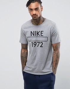 Серая футболка Nike Athletic Department 847612-063 - Серый