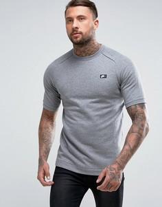 Серый свитшот с короткими рукавами Nike Modern 805174-091 - Серый