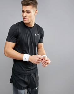 Черная футболка Nike Running Miler Dri-Fit 833591-010 - Черный