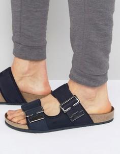 Темно-синие сандалии с пряжкой G-Star - Синий
