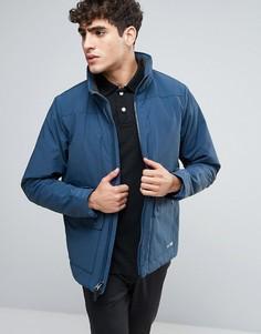 Темно-синяя куртка Abercrombie & Fitch Thermo Peak - Темно-синий