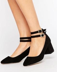 Туфли на среднем блочном каблуке ASOS SAVOY - Черный