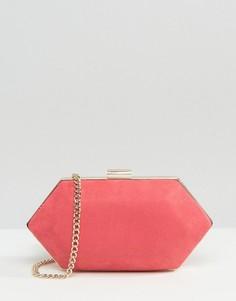 Клатч в форме драгоценного камня Miss KG - Розовый