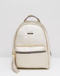 Рюкзак с эффектом металлик ALDO Acenaria - Золотой