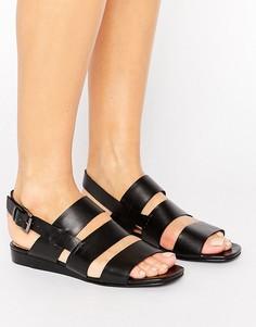 Кожаные сандалии Park Lane - Черный