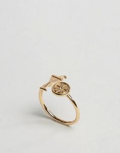 Коктейльное кольцо ASOS - Золотой