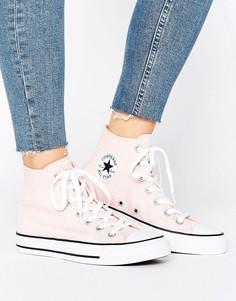 Высокие кроссовки с вафельной фактурой Converse Chuck Taylor All Star - Мульти