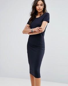 Трикотажное платье миди Only Abbie - Мульти