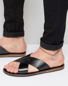 Браслет на ногу с кактусом ASOS - Черный