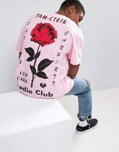 Футболка с принтом на спине Carhartt WIP - Розовый