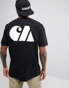 Спортивная футболка в стиле милитари Carhartt WIP - Черный