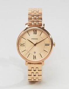 Часы оттенка розового золота Fossil ES3435 - Золотой