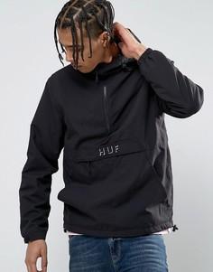 Куртка с логотипом HUF - Черный