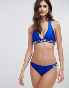 Купальник бикини со стразами Forever Unique - Синий
