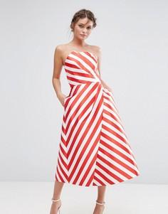 Платье миди Ted Baker Frieda - Розовый