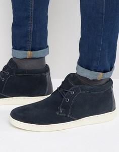 Темно-синие кроссовки в стиле ботинок чукка Red Tape - Синий