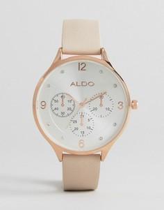 Лаконичные часы цвета розового золота ALDO - Золотой