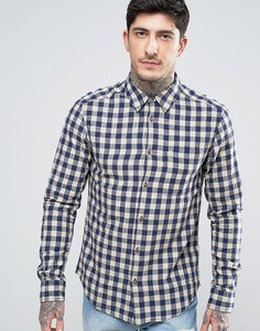Рубашка в клетку Wrangler - Темно-синий