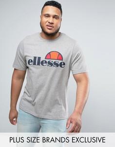 Футболка с классическим логотипом Ellesse PLUS - Серый