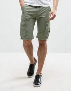 Шорты-чиносы с карманами-карго Blend - Зеленый