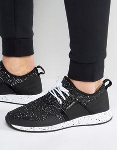 Черные кроссовки с принтом в крапинку Cayler & Sons Katsuro - Черный