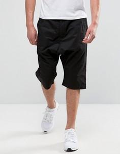 Черные шорты с заниженным шаговым швом Maharishi - Черный