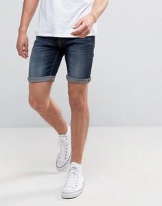 Темно-синие джинсовые шорты Blend - Темно-синий