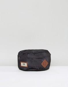 Сумка-кошелек на пояс с пальмовым принтом Vans Aliso V00ZOVM5S - Черный