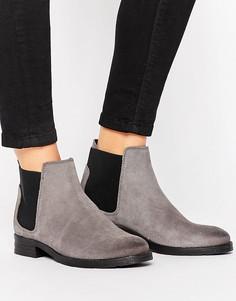 Ботинки челси из нубука Vero Moda - Серый