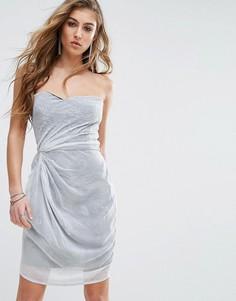 Платье без бретелек Religion - Белый