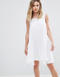 Расклешенное платье Native Youth - Белый