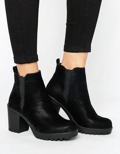 Ботинки челси на среднем каблуке Blink - Черный