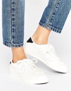 Кремовые фактурные кроссовки Nike All Court 2 - Кремовый