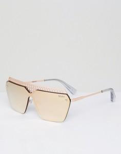 Солнцезащитные очки Quay Australia Hall of Fame - Золотой